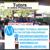 Faith tutors CAHSEE Mathematics in Calamba, Philippines