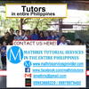Lea tutors 6th Grade math in Calamba, Philippines