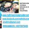 Mathrix tutors Geography in Manila, Philippines