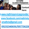 Mathrix tutors Science in Manila, Philippines